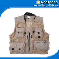 Multifunctional Three-dimensional more fishing reporter director waistcoat pocket journalist vest