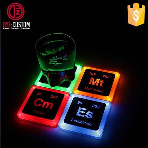 Plastic Square shape Led Coaster (1).jpg