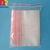 LDPE resealable zipper bag transparent plastic bag storage food bag