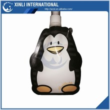 2015 Factory New Fashion Kid's Gift with Unique Animal Cartoon Shape Foldable Water Bottle