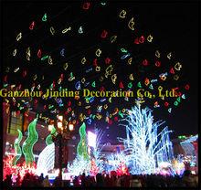 Led de noël motif poissons d'éclairage pour rue extérieure ou le center commercial décoration