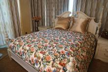 2015 lastest design flolar printed cotton quilt