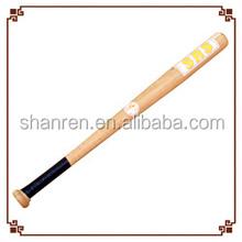 Promotion best Low price baseball equipment wooden baseball bat for decoration