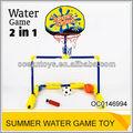 2 em 1 de água do esporte engraçado jogo de basquete água oc0146994