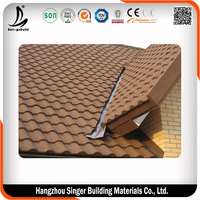 Hot sale sheet metal roofing shingles, high quality sheet metal roofing price