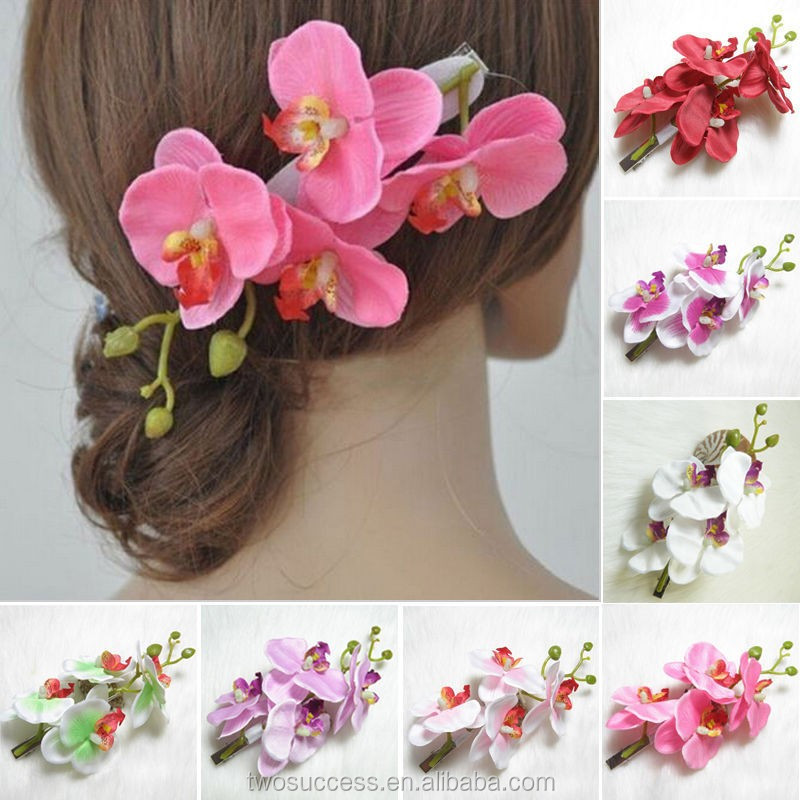 women party wedding beach decor flower hair clip bridal.jpg