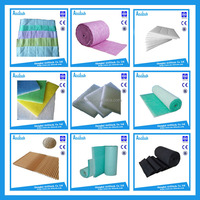 G1-G4 dacron rolls thin air filter material
