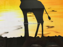 Canvas with glass coating digital painting