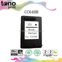 CC640H hot sell inkjet cartridge 121 for HP 121 CC640H
