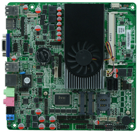 DC12v Power supply Intel 1037U Mini PC Itx Motherboard,all in one motherboard M100_618 full tested
