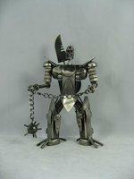 metal robot toy
