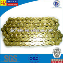 428H high quality golden motorcycle roller chain