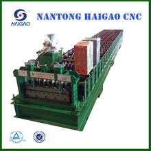 single layer CNC Color steel roll forming machine/Glazed Sheet Metal Roofing Rolls Forming Machine