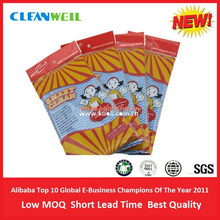 Household spunlace nonwoven anti-bacterial cloths