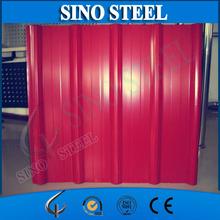 RAL PPGI Roofing sheet/ prepainted corrugated metal roofing/steel roof tile