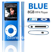 8GB 4TH GEN MP3 MP4 PLAYER With 1.8'' Inch TFT Screen & FM Radio & Games &Voice Recorder &Earphone
