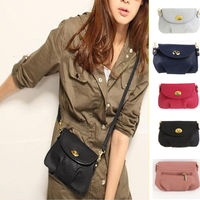 Womens Handbag Satchel Shoulder PU Leather Messenger Purse Tote Cross Body Bag