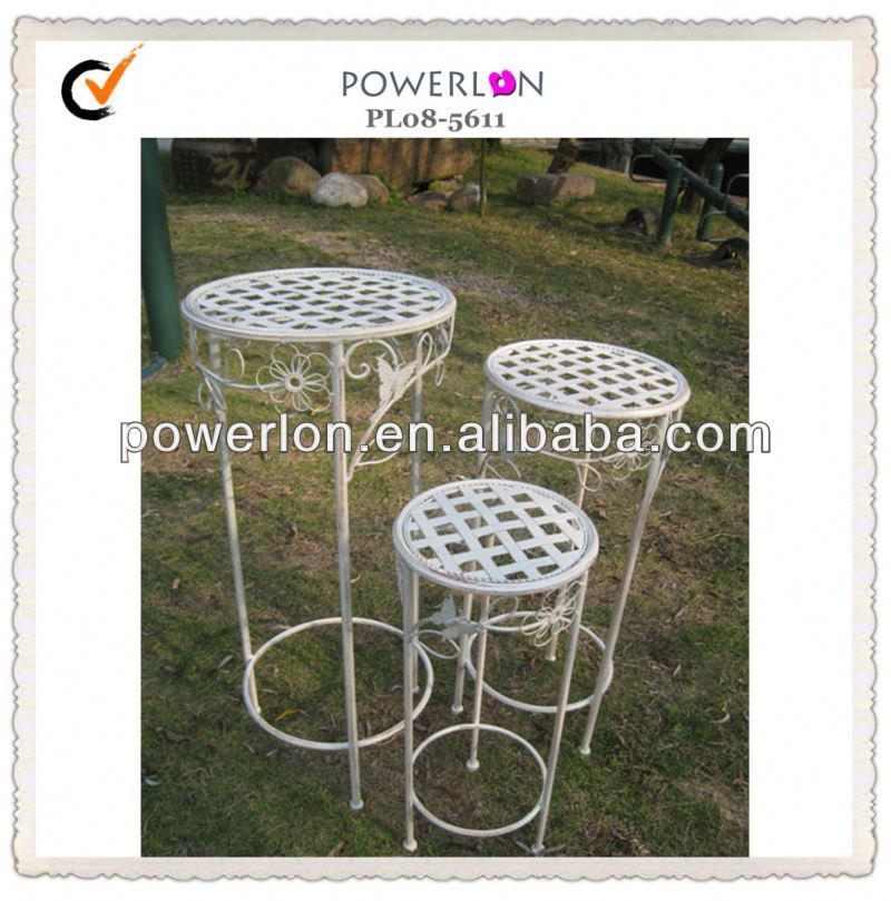 Outdoor Wrought Iron Decorative Plant Stand Buy