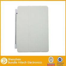 Hot sale leather case for Ipad mini smart cover with 3 folding fuction