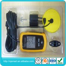 Portable fish finder, Radio audible fish&depth alarm