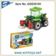 39pcs Happy Farm Series mini building brick funny block toy
