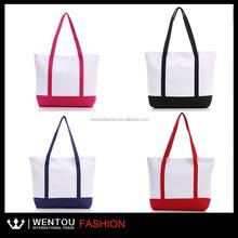 Monogrammed Fashion bag canvas tote bag