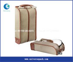 High Grade Canvas Golf Shoe Bag For Foreign Trade Wholesale