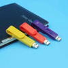 Free sample paper clip drop shipping wholesale colorful paperclip waterproof usb memory stick 512gb 32gb