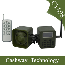 Sounds clear hunting mp3 bird caller, remote 300 meters hunting bird caller mp3 player, bird caller for hunting with 50W speaker