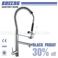 Black Friday price Special discount Good quality control 1 hole kitchen sink mixer tap 30% OFF