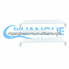 Export Europe clear vinyl pvc zipper bags with handles