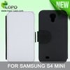 Sublimation leather flip cover for Samsung galaxy S4 mini