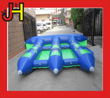 Summer game inflatable flying fish boat/banana boat for sale
