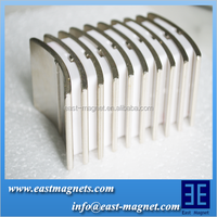 high quality Neodymium magnet for electrict motor/ndfeb arc custom made magnet/position ndfeb magnet for sale