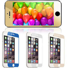 Cool Color Tempered glass Film Front Sticker Screen Protector for iPhone 6