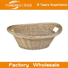 Fábrica de atacado alta qualidade cesta de bambu 100% cestas de pão natureza artesanato de vime rattan