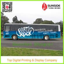 waterproof car sticker / bus body wrap sticker decoration