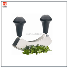 KG-G1003 Double Bladed Mezzaluna / Hachoir / Herb Chopper