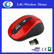 2.4ghz wireless 3d custom printed mouse with corporate giveaways