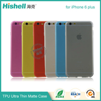 Top Quality Full Transparent soft tpu Back Case Cover For iphone 6 plus 5.5""