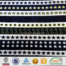 Polyester Spandex Velvet/Knitting Stretch Velvet Fabrics