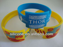 promotional funny silicone bangles