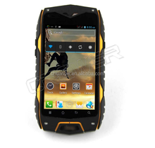 Waterproof mobie phone Z6 IP68 rugged phone android 4.0'' Dual SIM 3G WIFI GPS 5.0MP Camera two battery GIFT 16GB