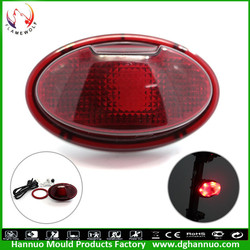 Top quality attractive charming led light for electric bike bicycle warning rear Light