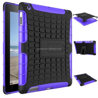Cheap goods from china Hybrid heavy duty armor hard shockproof kickstand tablet pc leather case for ipad 2 3 4 paypal accept
