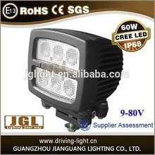 JGL LED Work Light Spot/Flood,Fog light for offroad motorcycle led headlight, SUV, 4X4 60W OFFROAD LED WORK LIGHT