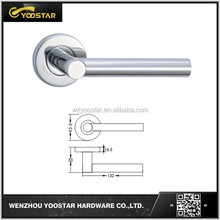 Interal wood door good quality SS304/201 door handle from wenzhou china