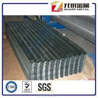 Zinc galvanized corrugated sheet / metal roofing sheet design