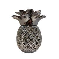 Classical silver unique pineapple porcerlain Tea candle