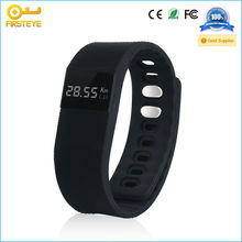 2015 charm silicon bluetooth wristband calories pedometer for alarm drinking and sleep